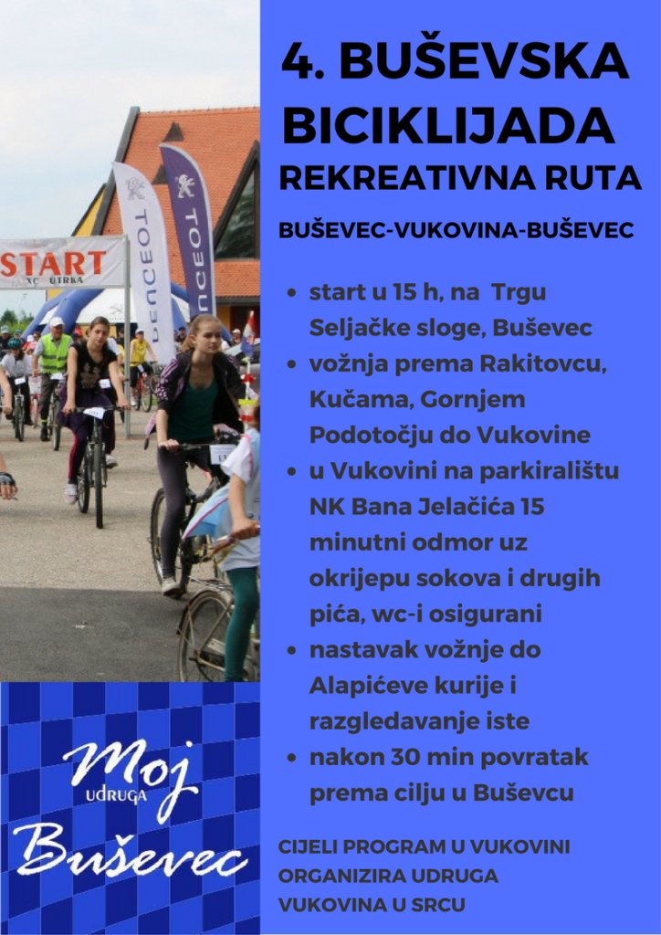 4. Buševska biciklijada _ rekreativna rutaa