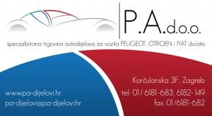 Autodijelovi za Peugeot, Citroen i DS
